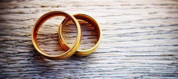 Casamento alianças